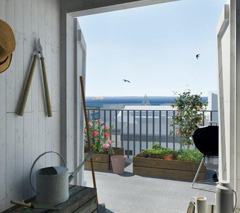 Nyhamnen Projekt AB- Brf Hamnoasen