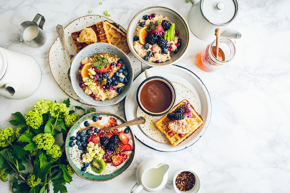 Härlig frukost med inspirerande möten