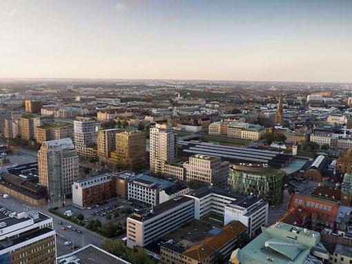 Veidekke bostad – Brf Malmö Living